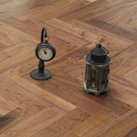 Walnut Herringbone Flooring